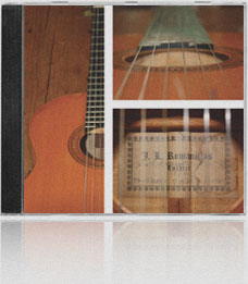 The Spirit of the Spanish Guitar by Guy Bacon Inside Sleeve